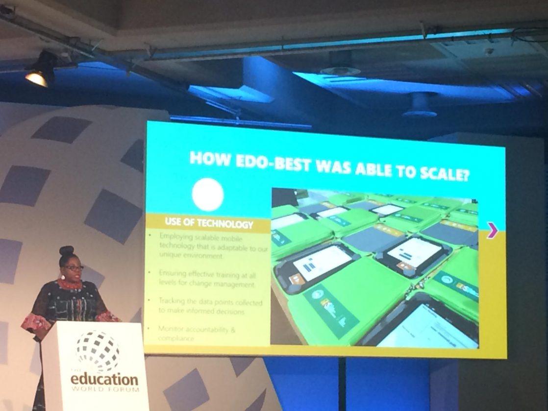 Bridge showcased at the Education World Forum - Blog